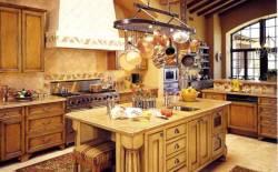 Tủ bếp gỗ sồi trắng đẹp tự nhiên mà bền