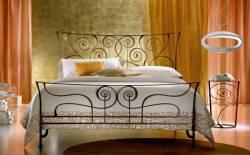 Giường sắt cho phòng ngủ sang trọng 03