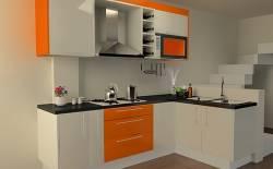 Tư vấn tủ bếp nhỏ cho nhà bếp thêm gọn