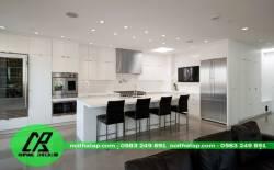 Tủ bếp Acrylic- tủ bếp cho mọi gia đình