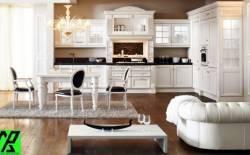 So sánh đặc trưng tủ bếp Laminate và Acrylic