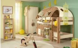 Những kiểu giường tầng độc đáo cho bé