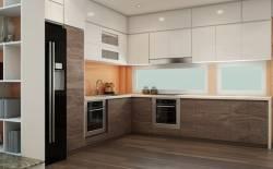 Thiết kế nội thất chung cư anh Dương Timecity