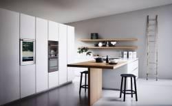Nên bố trí tủ bếp kết hợp với bàn ăn như thế nào cho phù hợp