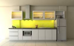Tủ bếp đẹp cho người nội trợ thêm cảm hứng