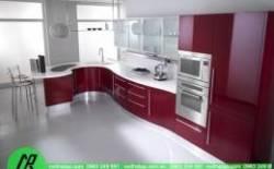 Những mẫu tủ bếp Acrylic bạn nên lựa chọn cho năm 2017