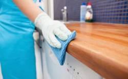 Cách chăm sóc tủ bếp gỗ công nghiệp nhanh chóng mà hiệu quả