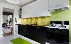 Ưu nhược điểm của tủ bếp laminate - tủ bếp acrylic
