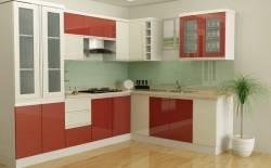 Tủ bếp nhựa sự lựa chọn thông minh cho căn bếp hiện đại