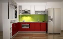 Tủ bếp acrylic chất lượng mang lại không gian bếp thông minh