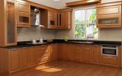 Tủ bếp nhựa bền đẹp cho mọi nhà