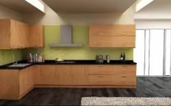 Sự khác nhau giữa tủ bếp Laminate với tủ bếp gỗ tự nhiên