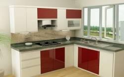 Tủ bếp Acrylic - sự kết hợp hoàn hảo của công nghệ hiện đại