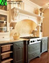 tủ bếp kiểu dáng cổ điển