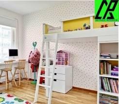 Mở rộng phòng ngủ trẻ em băng nội thất đa năg