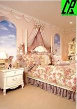 Phòng ngủ đẹp cho '' công chúa nhỏ ''