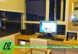 Thiết kế nội thất chung cư nhà anh Hoàng