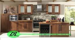 tủ bếp gỗ tự nhiên 20