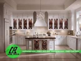 tủ bếp gỗ tự nhiên 10