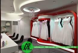 Thiết kế nội thất showroom áo cưới AP-SR1369