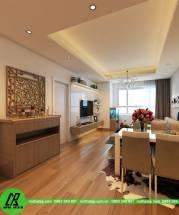 Thiết kế căn hộ 85m2 chung cư Golden Palace-anh Hữu AP-NC1378