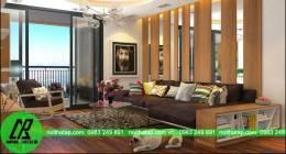 Mẫu thiết kế nội thất chung cư Văn Khê-Hà Đông