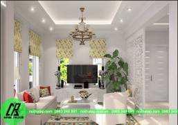 Hình ảnh thiết kế nội thất cho gia đình anh Đông-chung cư Splendora