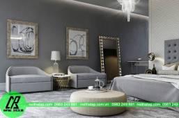 Thiết kế nội thất phòng ngủ cho gia đình anh Minh