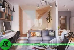 Thiết kế nội thất chung cư hiện đại cho nhà chị Hồng