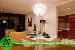 Thiết kế nội thất chung cư cao cấp- chị Huệ