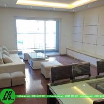 Thi công nội thất  hiện đại tại phòng 1005 khu B chung cư Golden Place