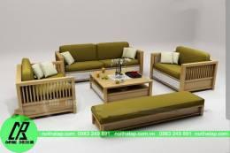 Sofa gỗ loại 6
