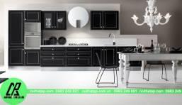 Thiết kế tủ bếp tại chung cư Sky city
