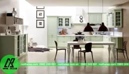 Mẫu thiết kế tủ bếp nhà anh Đại- Trường Chinh