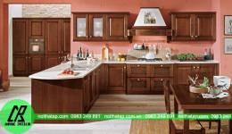 Mẫu tủ bếp nhà anh Phan- Âu Cơ