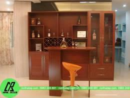 Tủ rượu phòng khách quý tộc