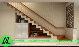 Thiết kế nội thất nhà phố - Anh Long