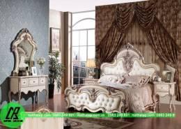 Mẫu thiết kế giường ngủ sang trọng