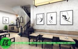 Thiết kế nội thất quán bar NH1300