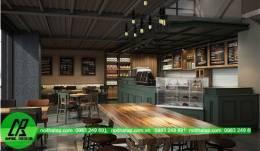 Thiết kế nội thất quán bar- cafe tại Đà Nẵng