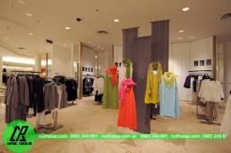 Thiết kế nội thất showroom quần áo đẹp