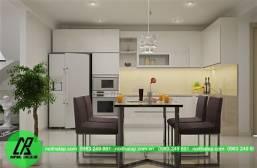 Tủ bếp acrylic 2