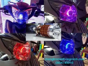 Đèn Pha Police đổi màu