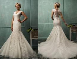 Váy cưới hở lưng gợi cảm 2014