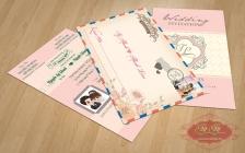 Thiệp cưới mẫu hộ chiếu