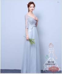 Váy dạ hội màu xanh