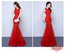 Váy dạ hội màu đỏ