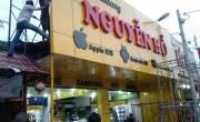 Hàng loạt các cửa hàng hà nội dùng biển quảng cáo Alu