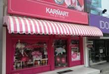 Trang trí cửa hàng kinh doanh mỹ phẩm đẹp từ trong ra ngoài
