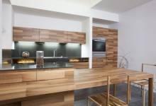 Thiết kế tủ bếp bằng gỗ đẹp nhất 2017 mang tới không gian sa